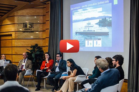 Debate sobre emissões do transporte marítimo
