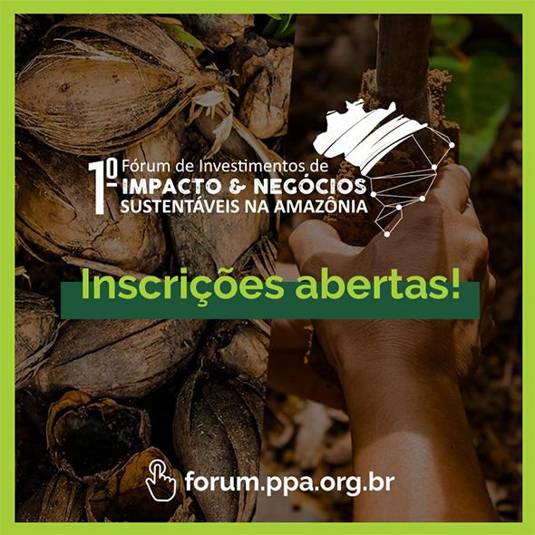 Discussões sobre ecossistema de finanças sociais e investimento na Amazônia têm data marcada