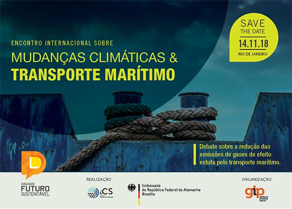 Emissões de GEEs por navios em pauta na série Diálogos Futuro Sustentável