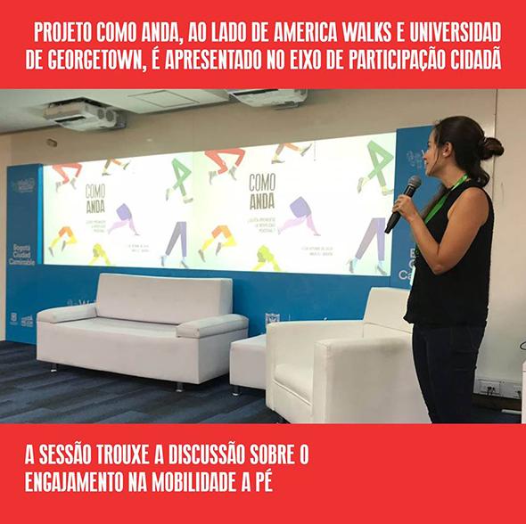 Pela primeira vez, a Walk 21 é sediada na América do Sul